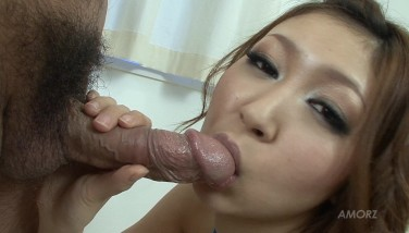 Oriental Honey Knows How To Use Her Facehole And Feet