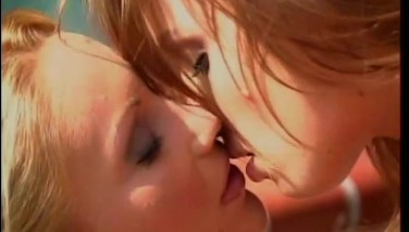 Beautiful Blond And Dark Haired Go At It  Future Works