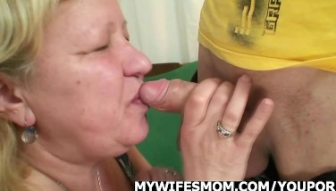 Wife Comes In When Her Mother Rails My Cock