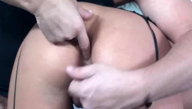Big Titted Blond Fuckin In Killer Dark-hued Nylons