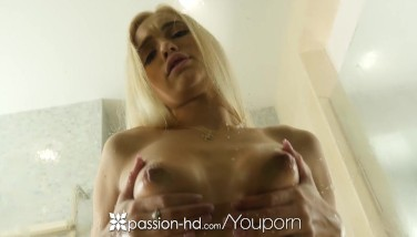 Passionhd  Bony Towheaded Hotty Alex Grey Pulverized After Shower