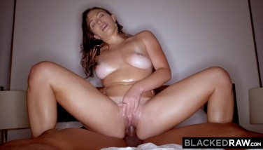 Blackedraw Thick Arse Wifey Enjoys Anilingus Dark Hued Men