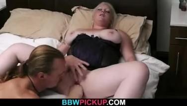 Busty Blondie Luvs Stranger's Cock